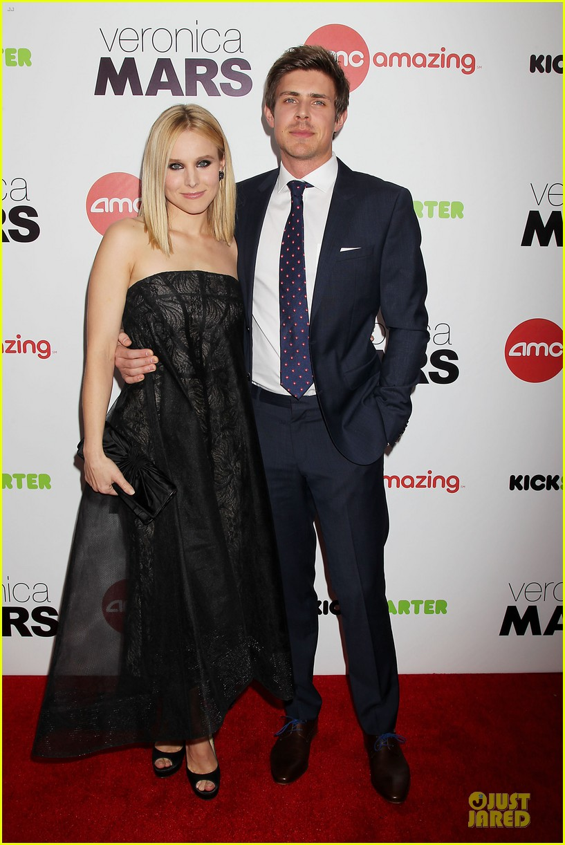 kristen bell chris lowell glam up the veronica mars nyc screening 033069529