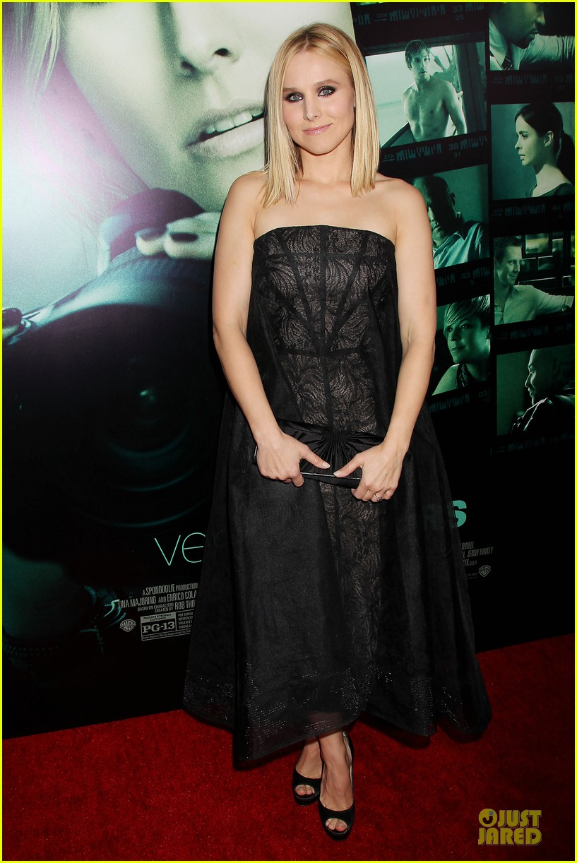 kristen bell chris lowell glam up the veronica mars nyc screening 123069538