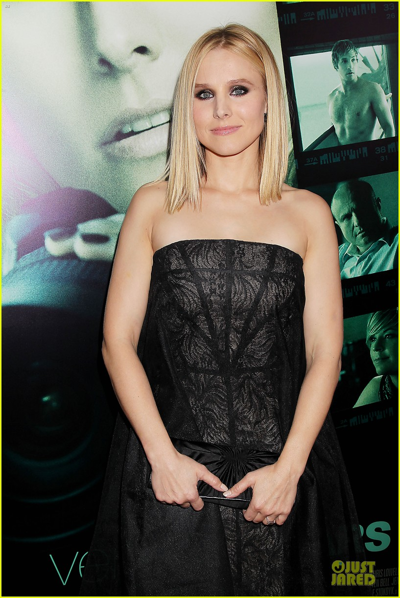 kristen bell chris lowell glam up the veronica mars nyc screening 143069540