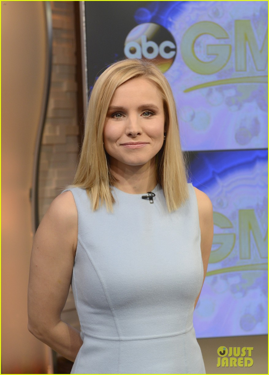 kristen bell good morning america 043069389