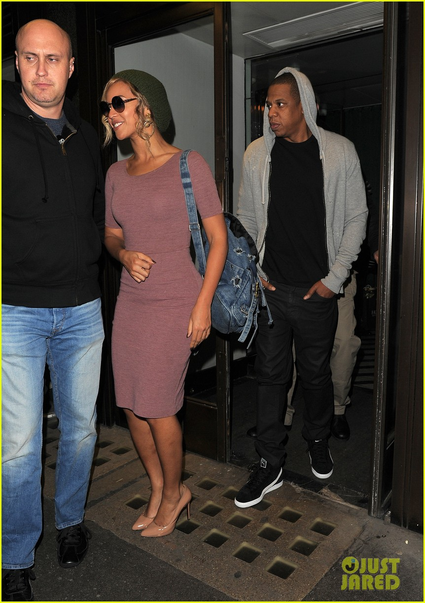 beyonce jay z date night in london before ireland shows 05