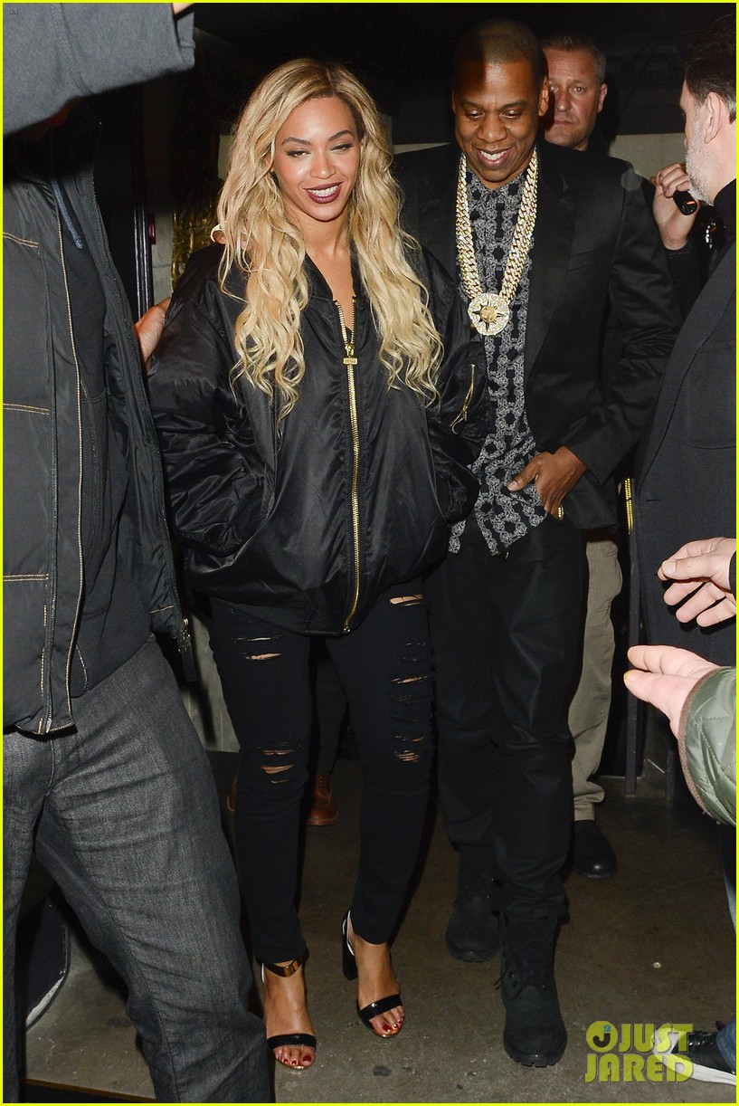 beyonce jay z party at mason house after london concert 033063374