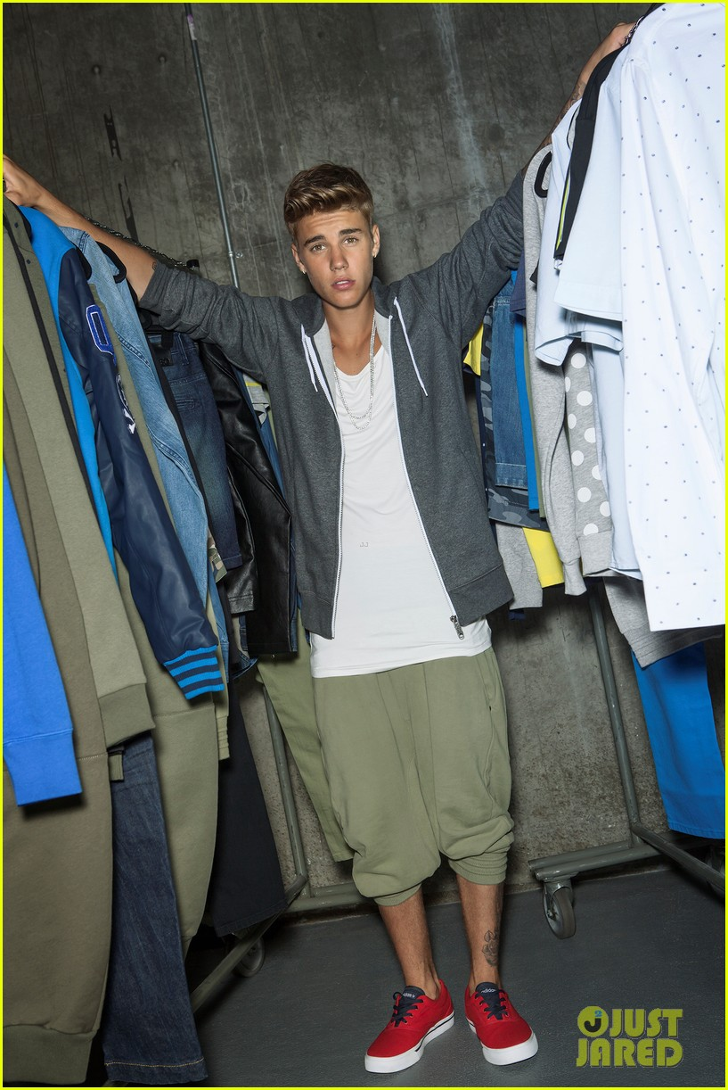 justin bieber adidas neo campaign pictures 123075315
