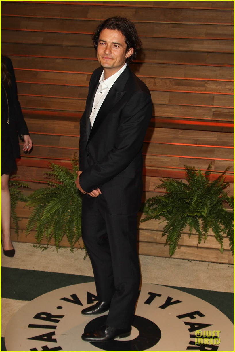 orlando bloom hits same vanity fair oscars party as ex miranda kerr 033064416