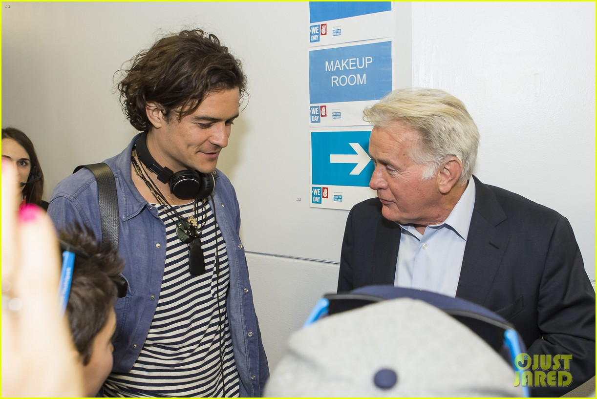 orlando bloom we day 2014 073079310
