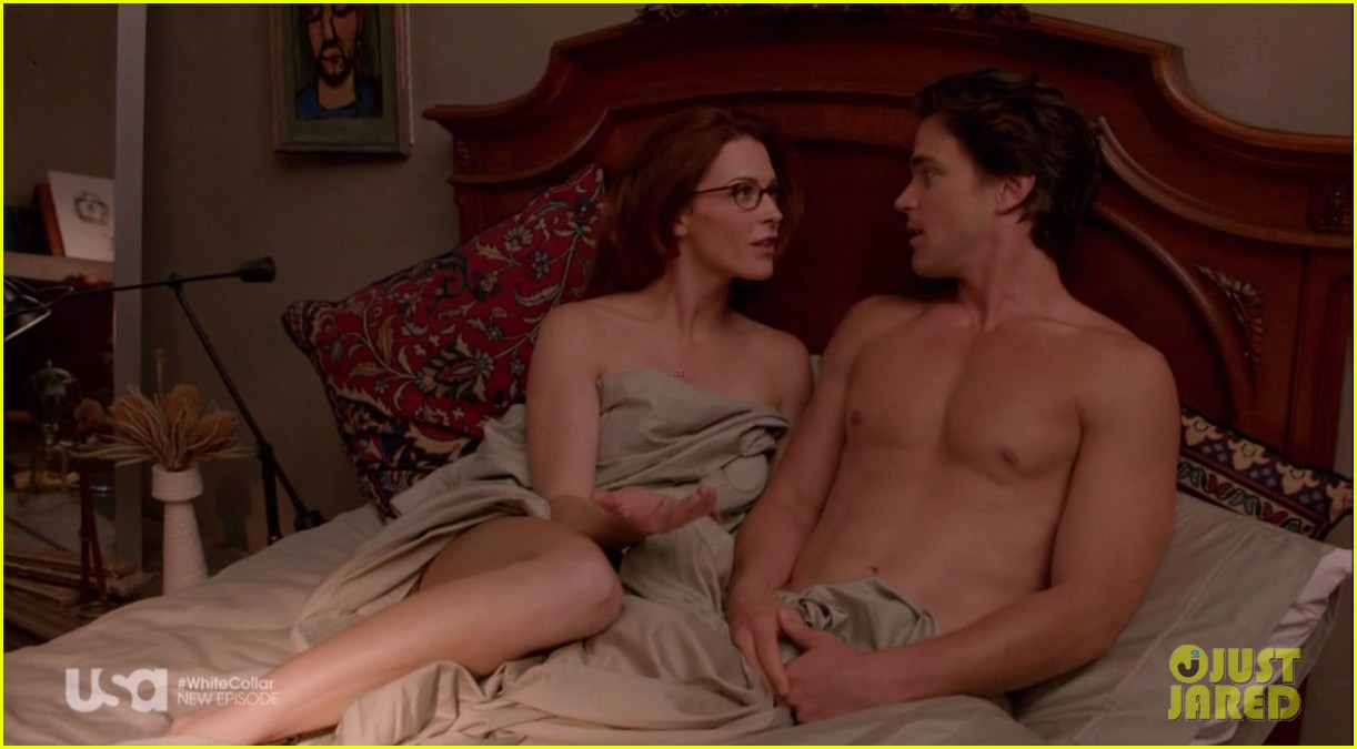 matt bomer shirtless sexy in recent white collar episode 033075604