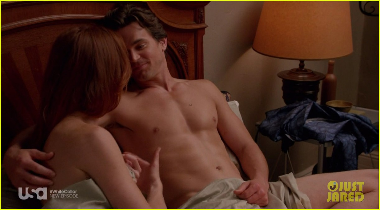 matt bomer shirtless sexy in recent white collar episode 053075606