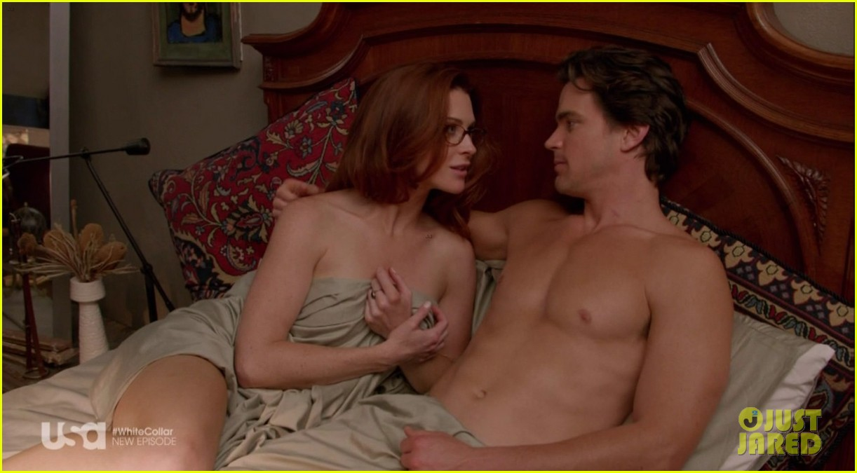 matt bomer shirtless sexy in recent white collar episode 12