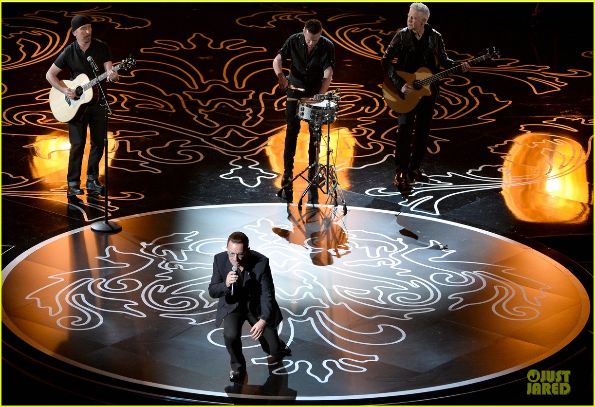 bono u2 performs ordinary love at oscars 2014 video 053064122