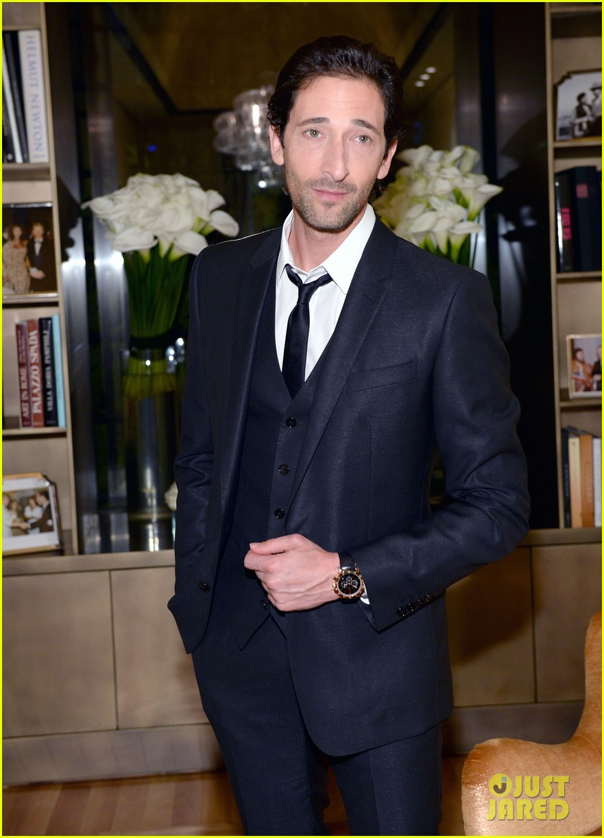 adrien brody sure knows how to wear a three piece suit 023076122