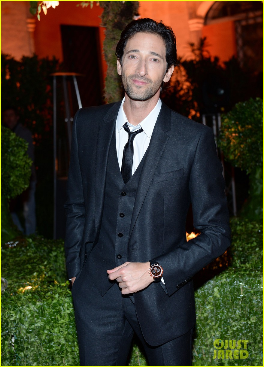 adrien brody sure knows how to wear a three piece suit 053076125