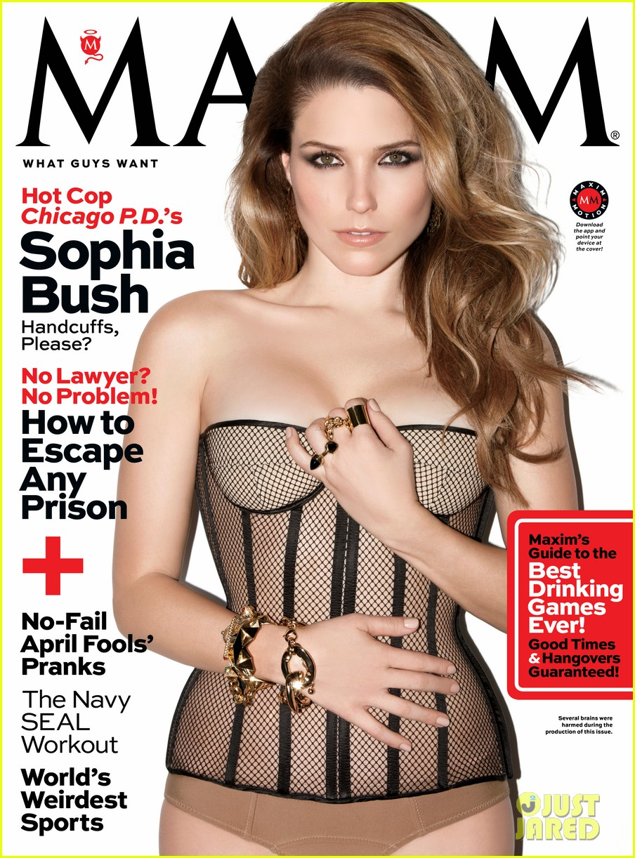 sophia bush exudes sex in hot lingerie on maxim cover 013069827
