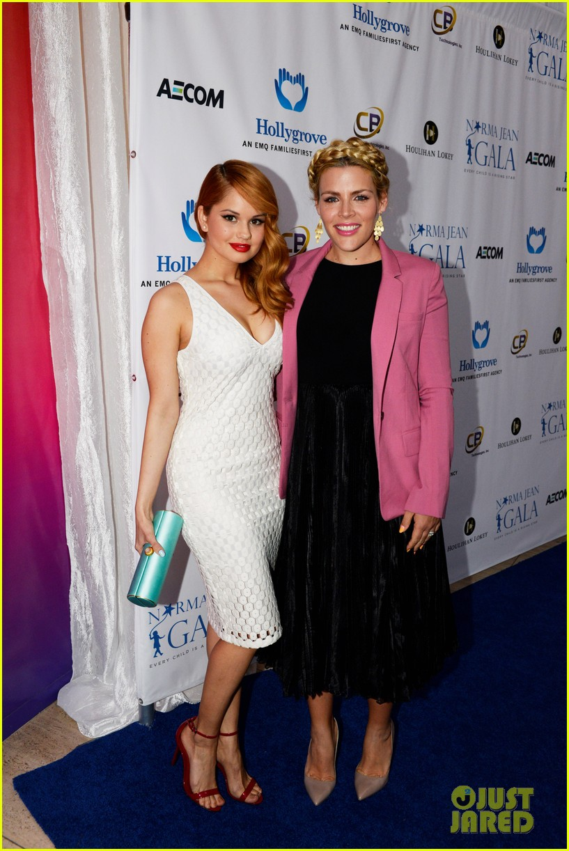 busy philipps debby ryan are two gorgeous ladies at norma jean dinner 023074760