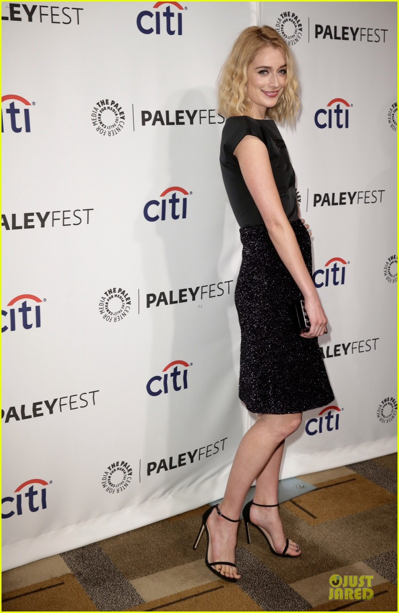 lizzy caplan michael sheen masters of sex at paleyfest 133078076