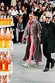 cara delevingne kendall jenner walk supermarket inspired runway at chanel show 14