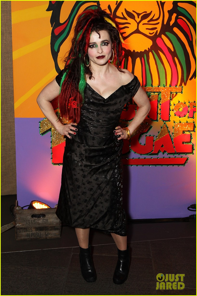 helena bonham carter multi colored dreadlocks 013071025