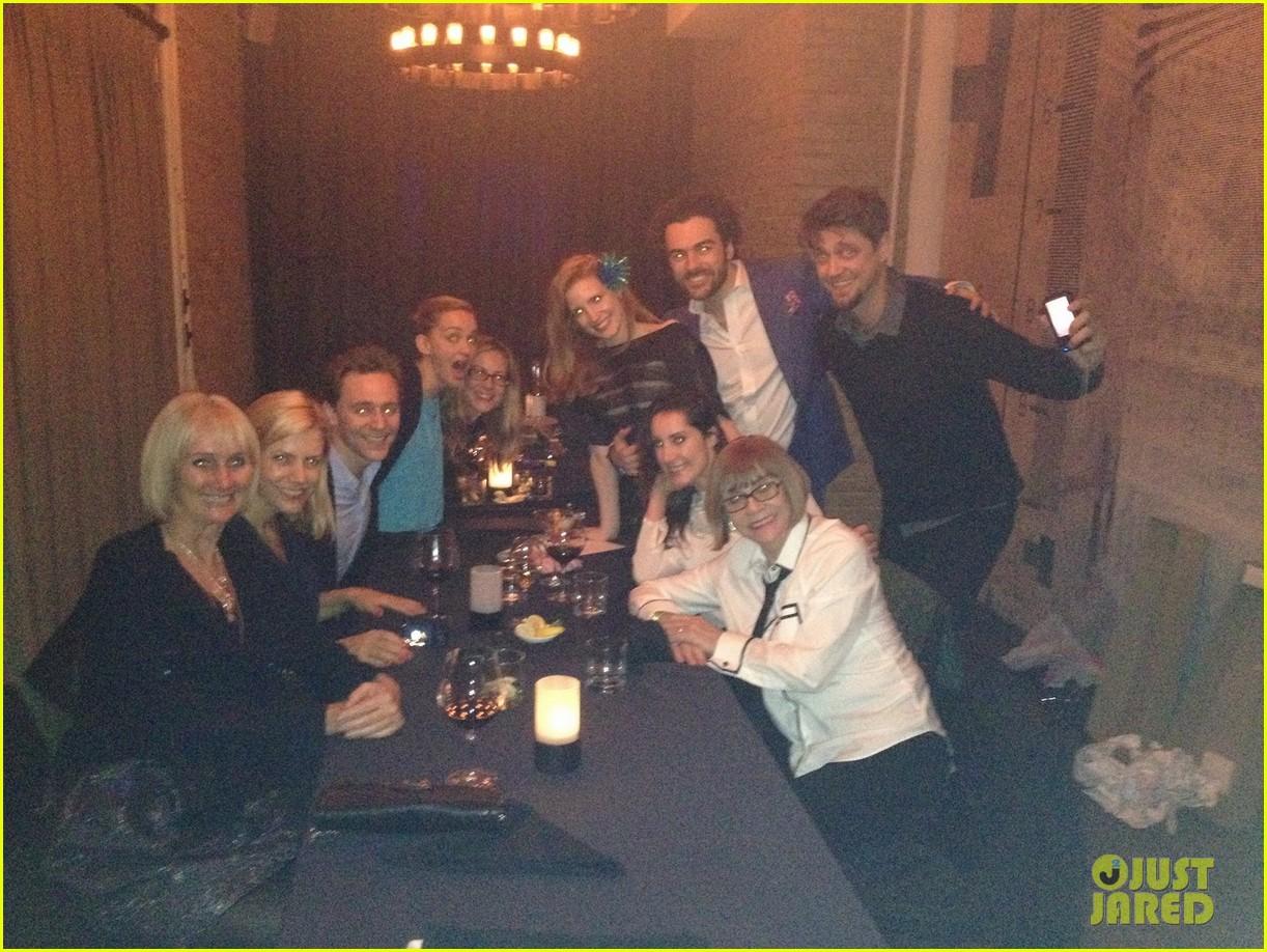jessica chastain celebrates birthday with tom hiddleston 013077547