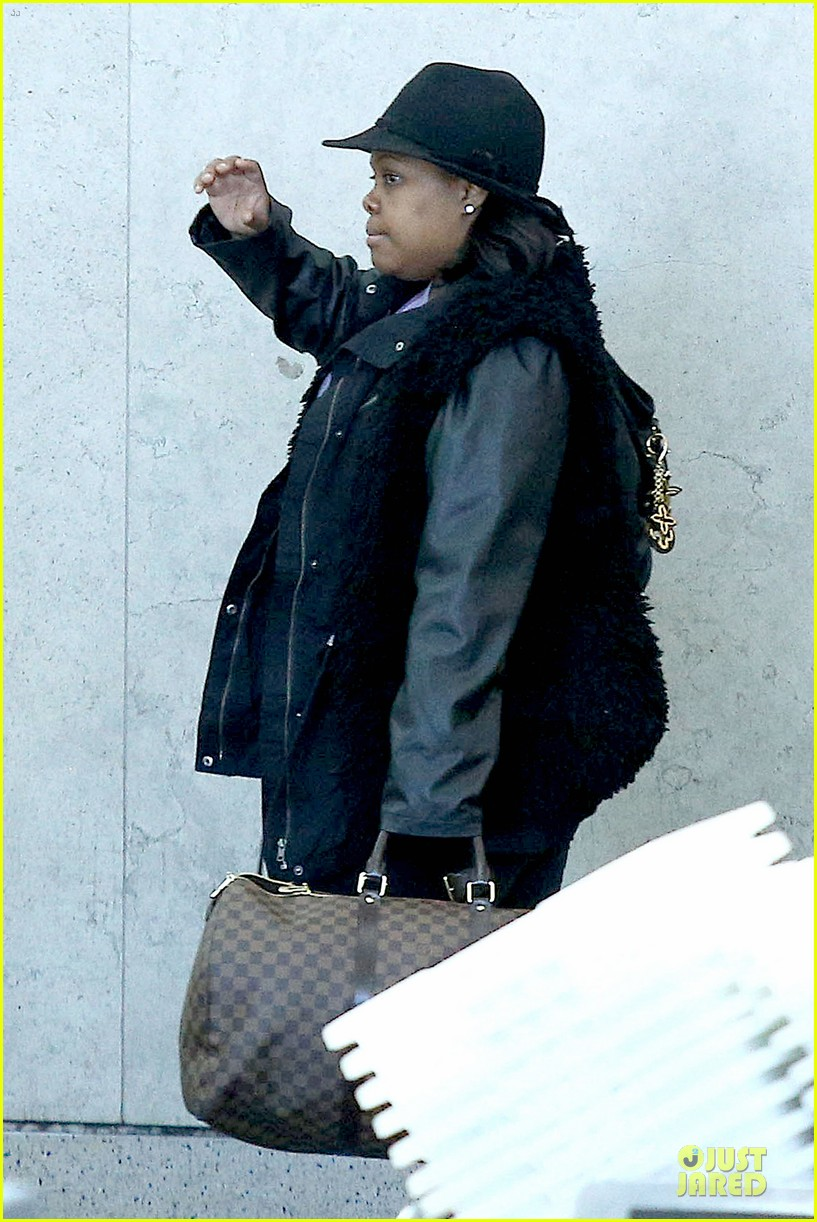 chord overstreet give amber riley jacket to stay warm 043074519