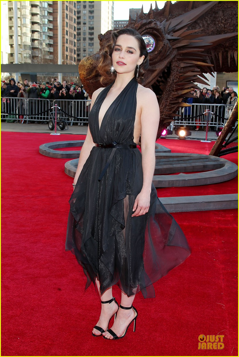 Emilia Clarke & Peter Dinklage Premiere 'Game of Thrones ...