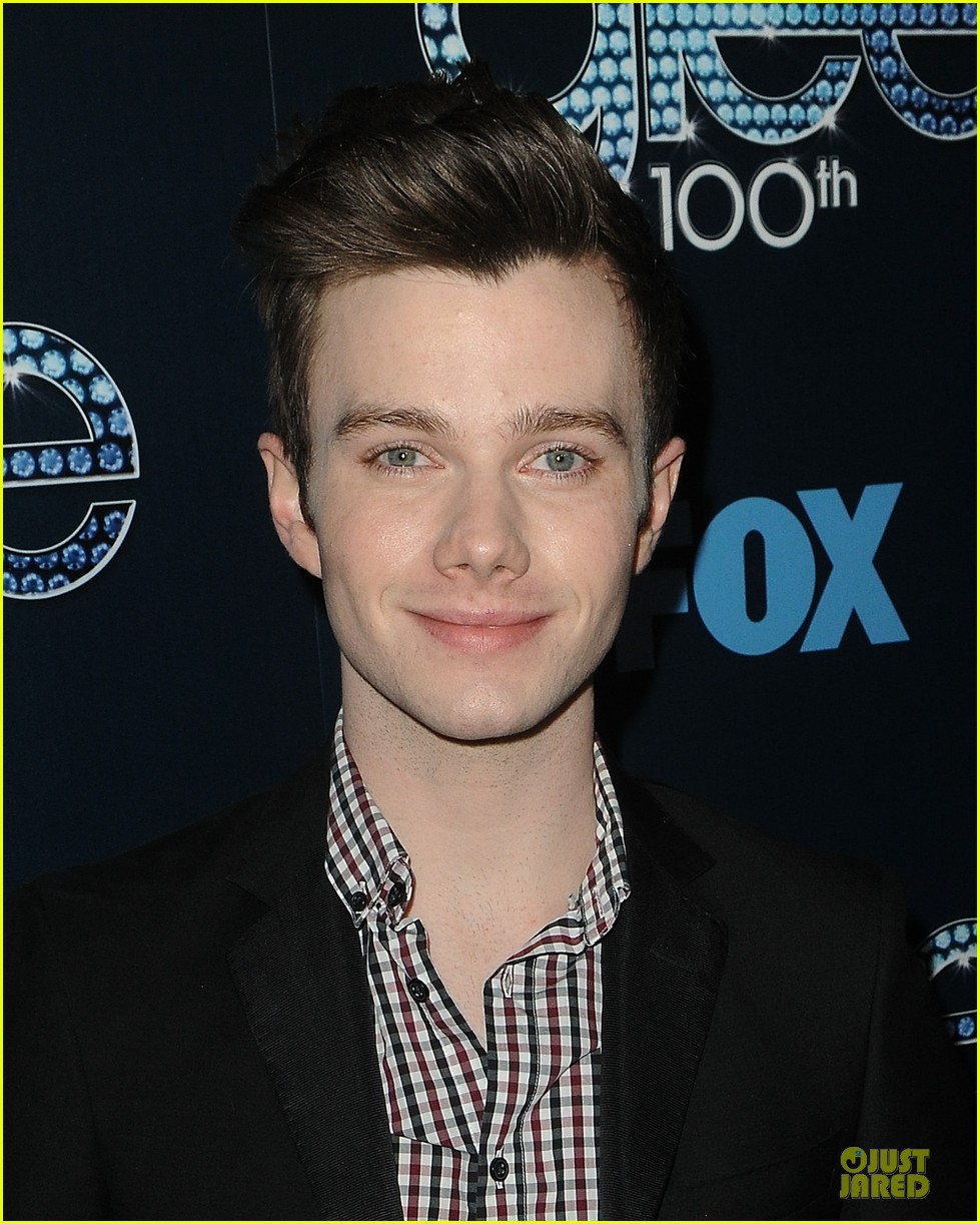 chris colfer darren criss glee 100th episode celebration 173074486