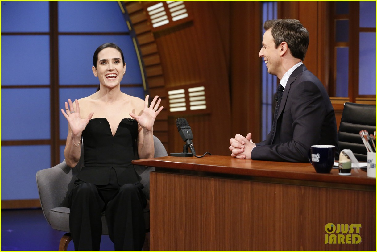 noah jennifer connelly russell crowe take over late night 193080329