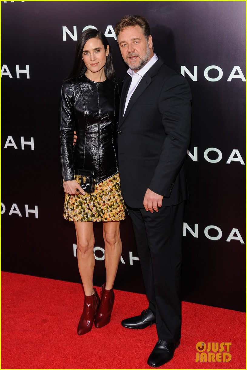 jennifer connelly russell crowe noah nyc premiere 013079179