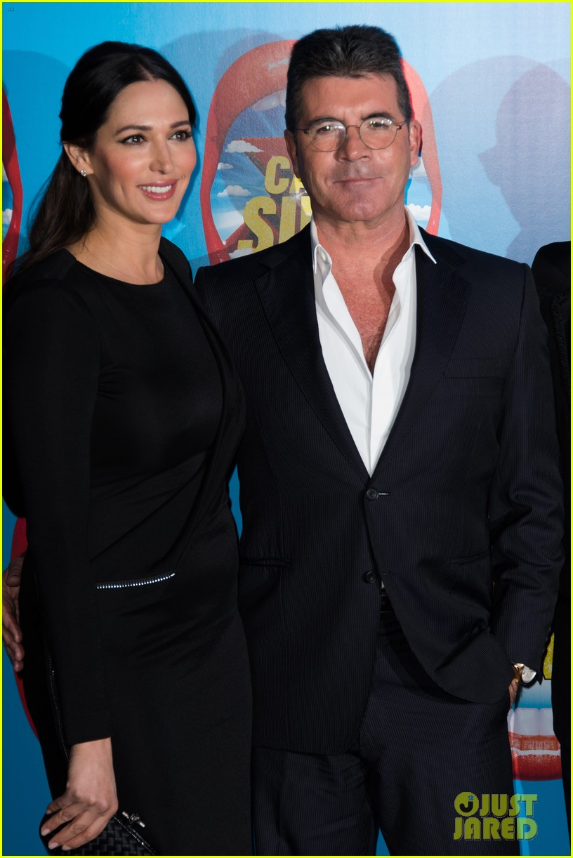 simon cowell lauren silverman first red carpet 043079170