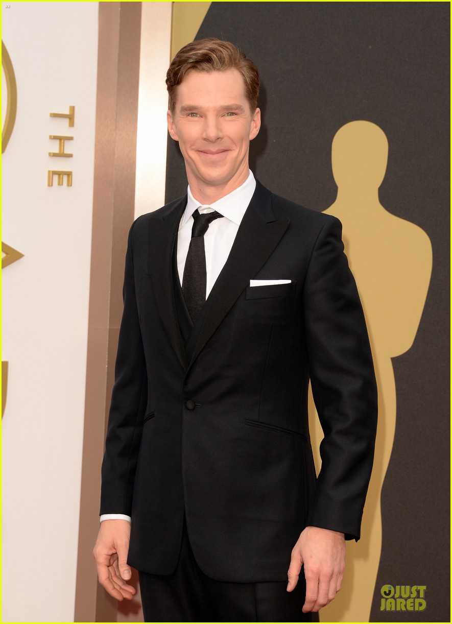 benedict cumberbatch oscars 2014 red carpet 02