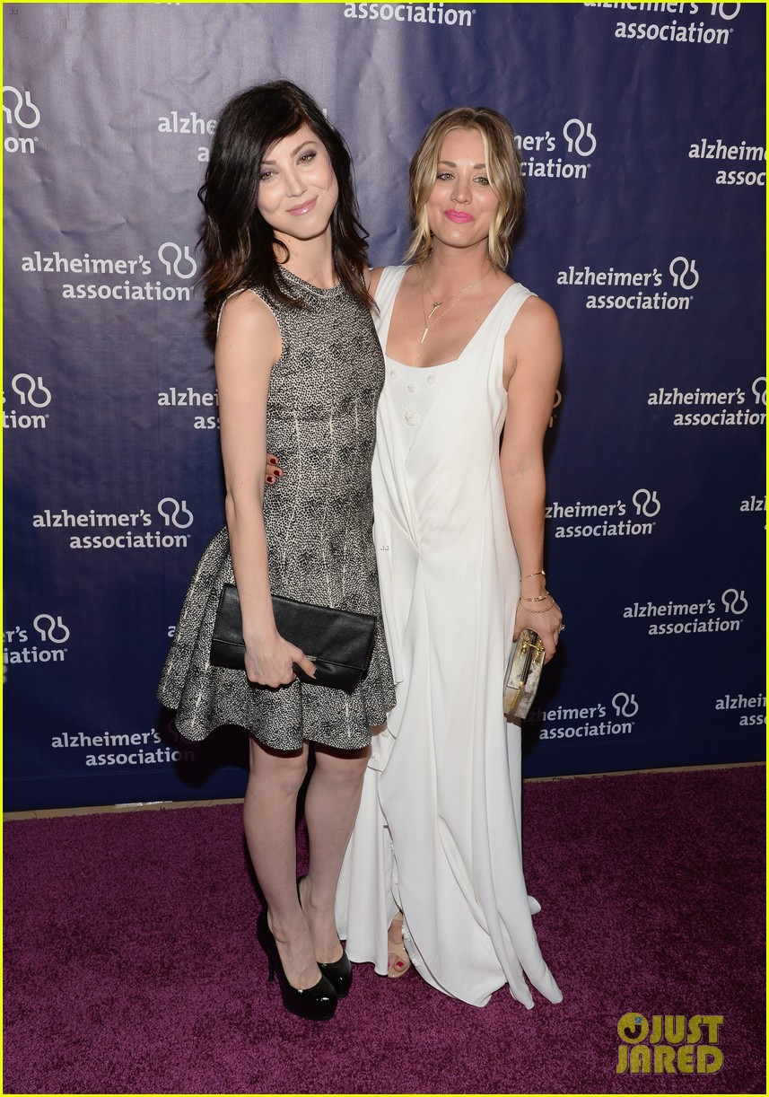 kaley cuoco attends a night at sardis with ryan sweeting sister briana 043079548