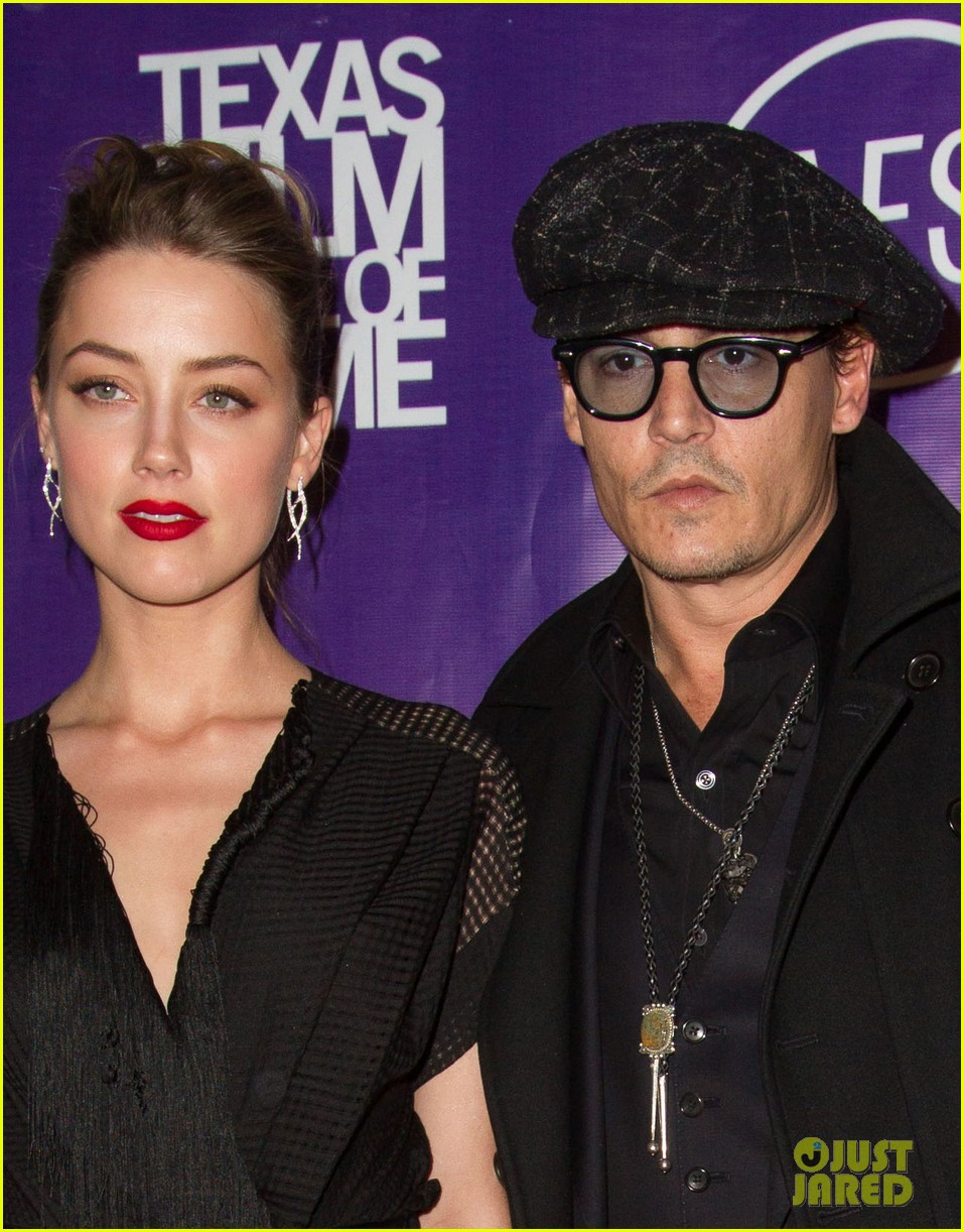 johnny depp amber heard texas film awards 043067486