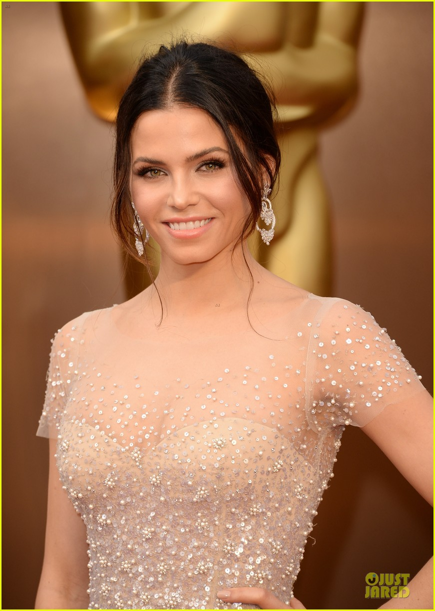 jenna dewan nude fairy on oscars 2014 red carpet with channing tatum 023063952