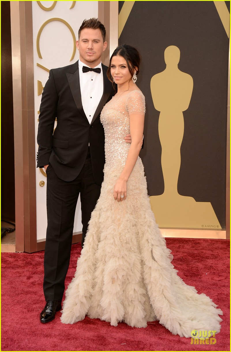 Jenna Dewan: Nude Fairy on Oscars 2014 Red Carpet with Channing ...