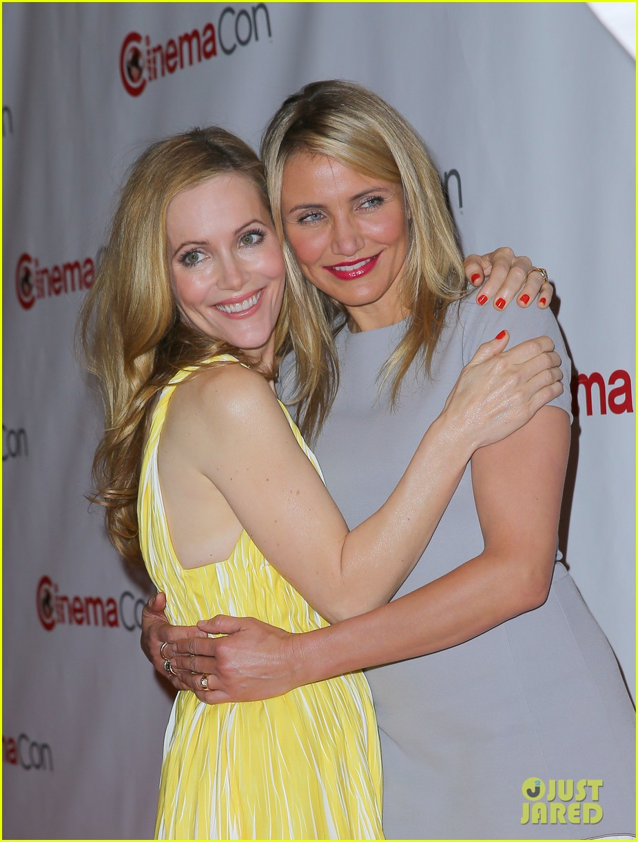 cameron diaz leslie mann let no other woman between them at cinemacon 153079821