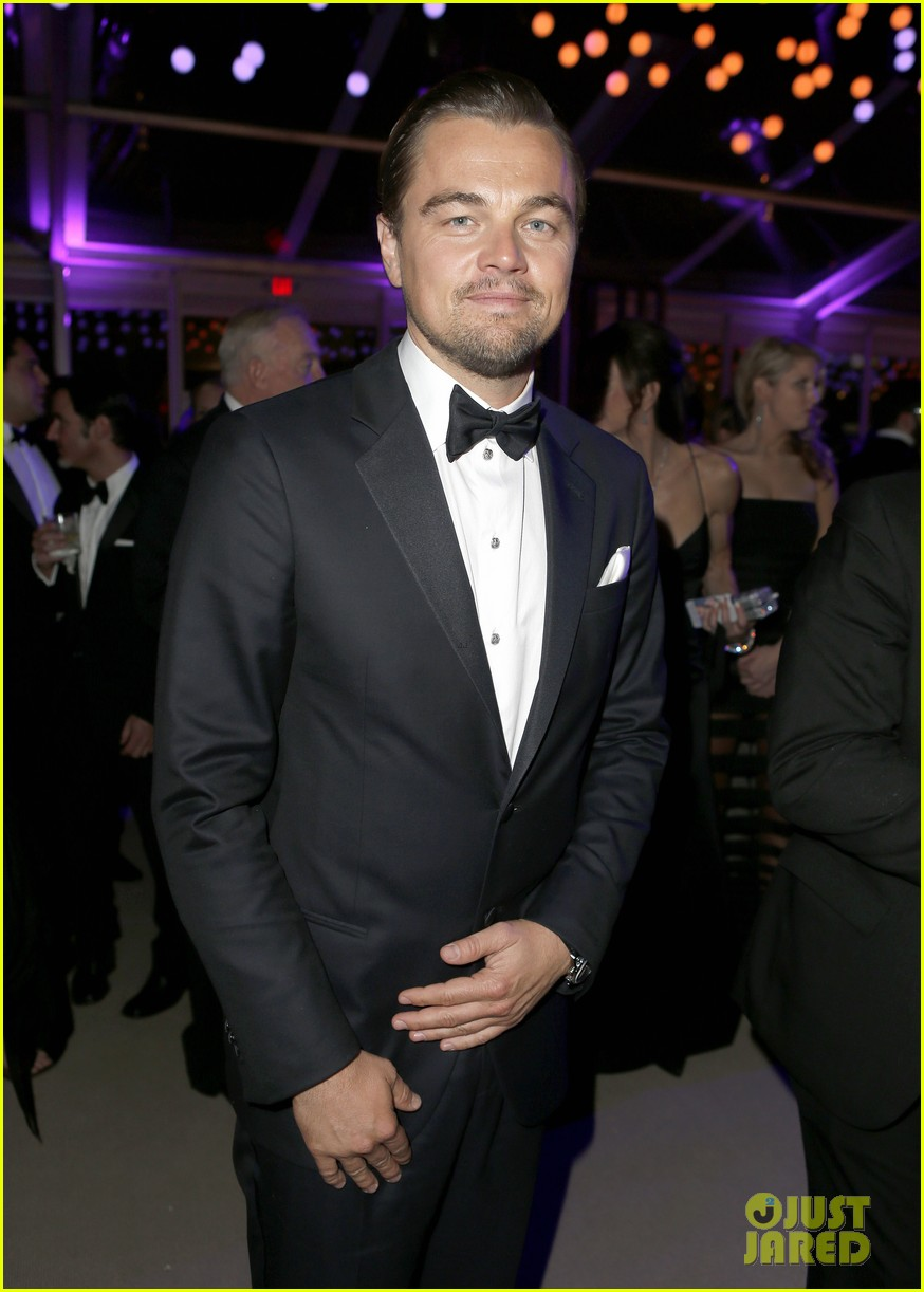leonardo dicaprios girlfriend toni garrn joins him for oscars after party 033064865