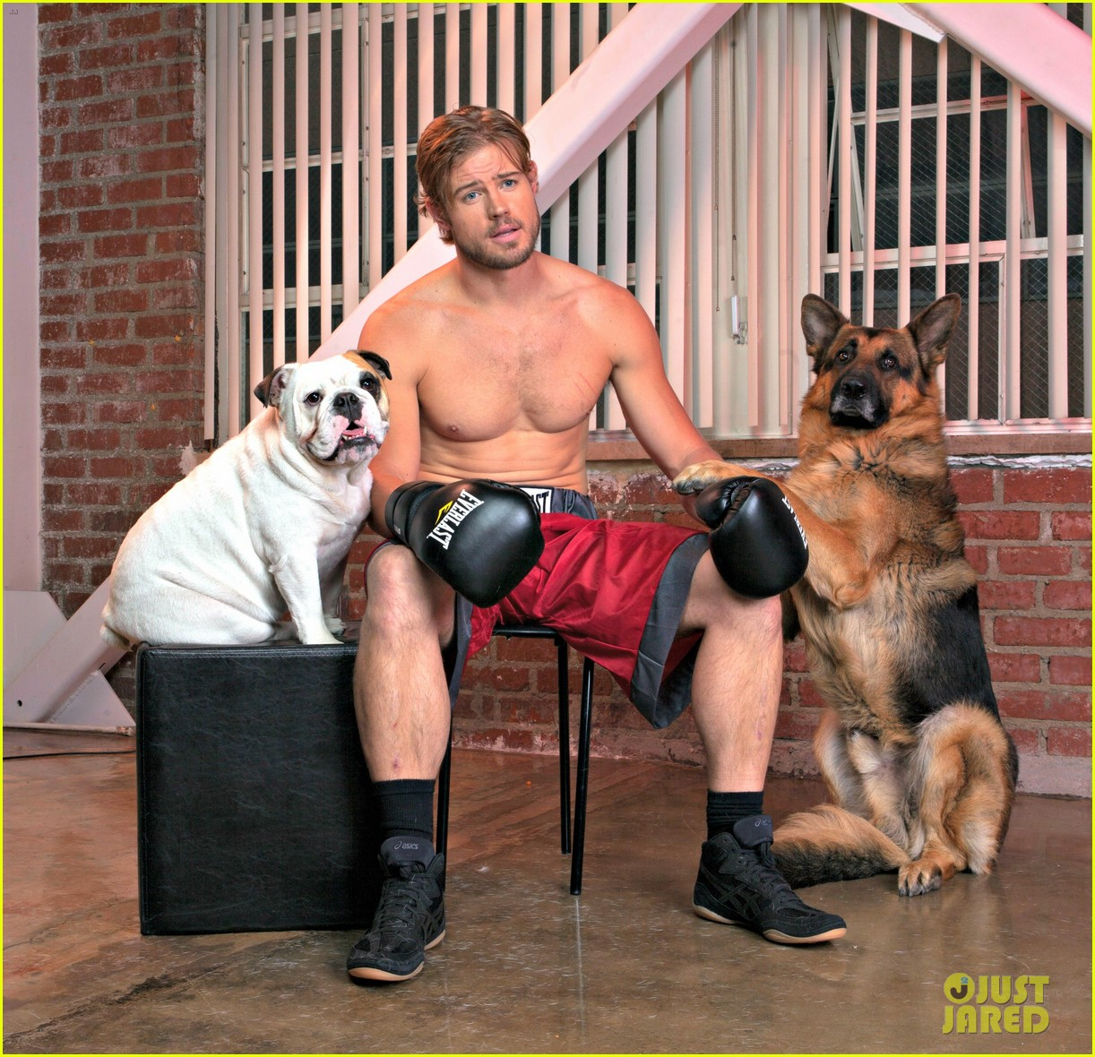 trevor donovan shirtless for a good cause 043079369