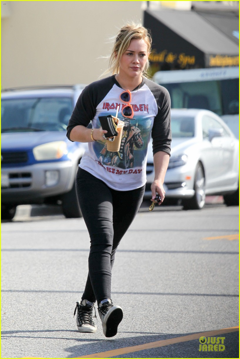 hilary duff heavy metal band iron maiden makes my day 013066154
