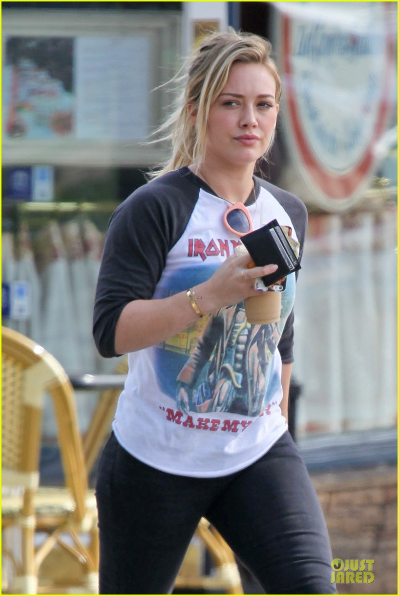 hilary duff heavy metal band iron maiden makes my day 073066160
