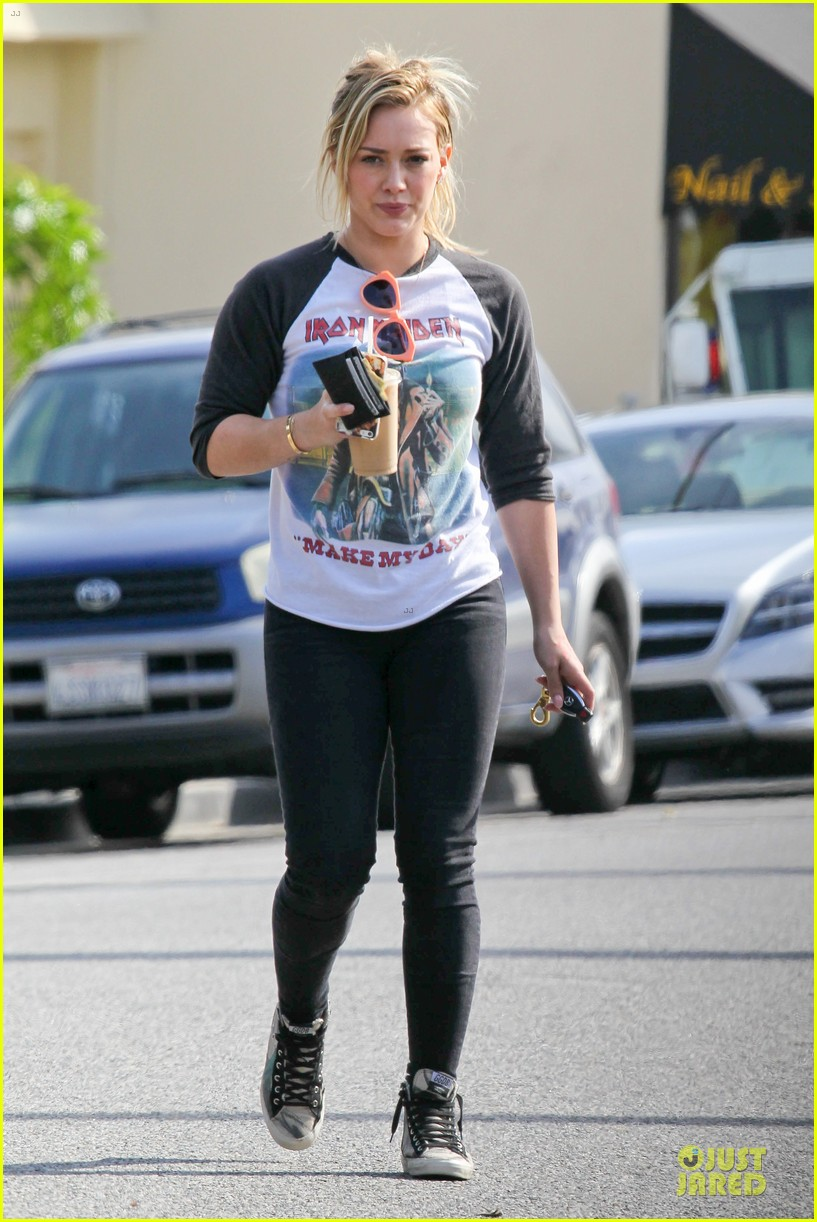 hilary duff heavy metal band iron maiden makes my day 083066161