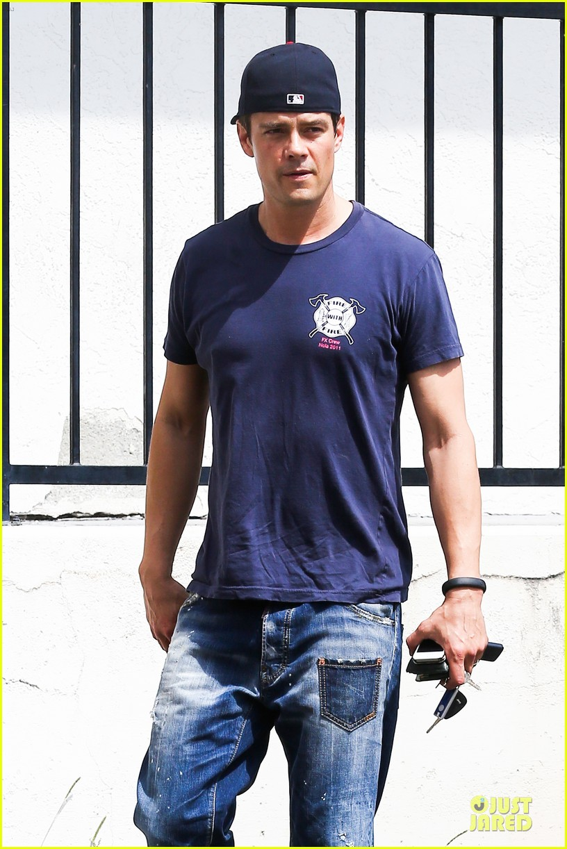 josh duhamel cant get enough of early world 143081872