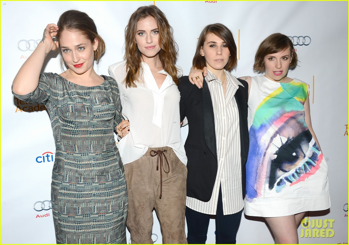 lena dunham allison williams an evening with the cast of girls 043071776