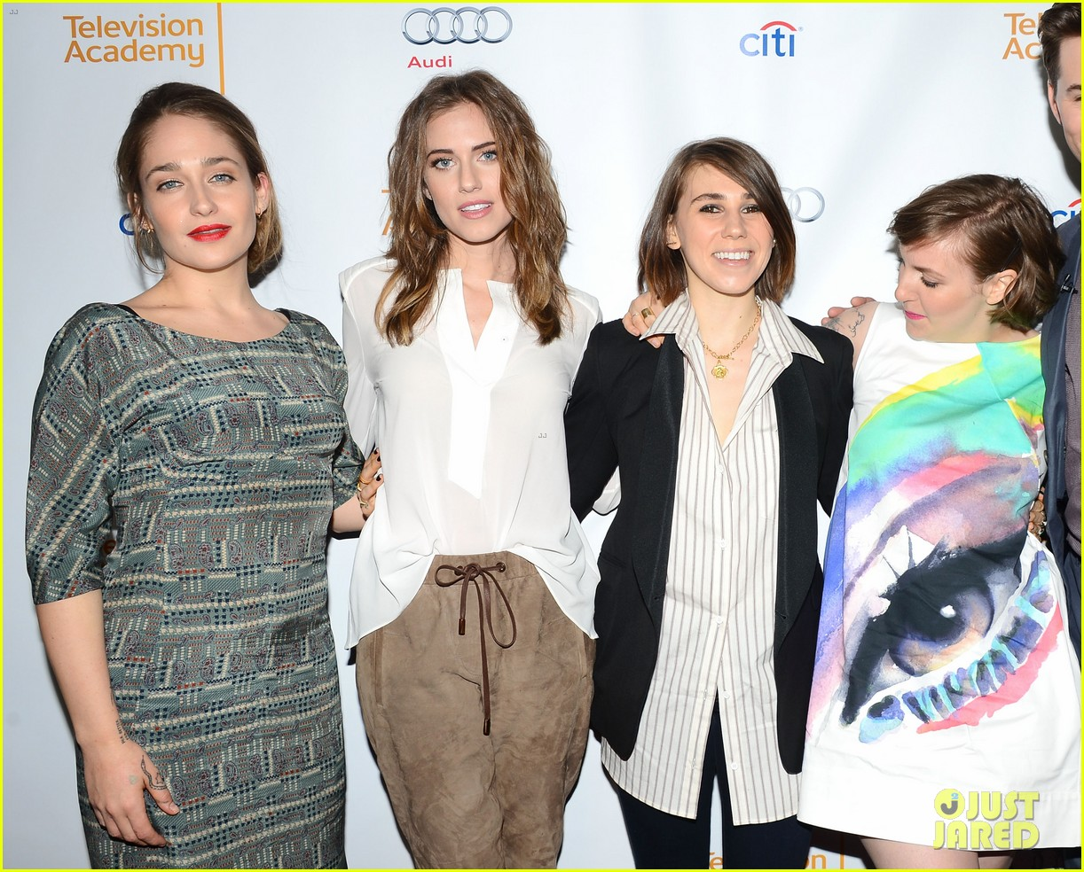 lena dunham allison williams an evening with the cast of girls 063071778