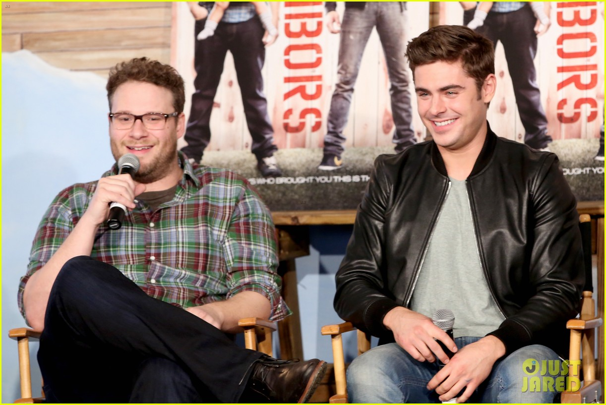 zac efron brings his next shirtless movie neighbors to sxsw 053068554