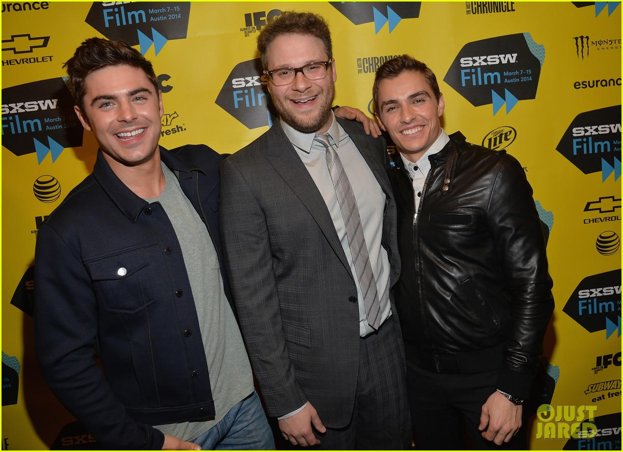 zac efron brings his next shirtless movie neighbors to sxsw 243068573