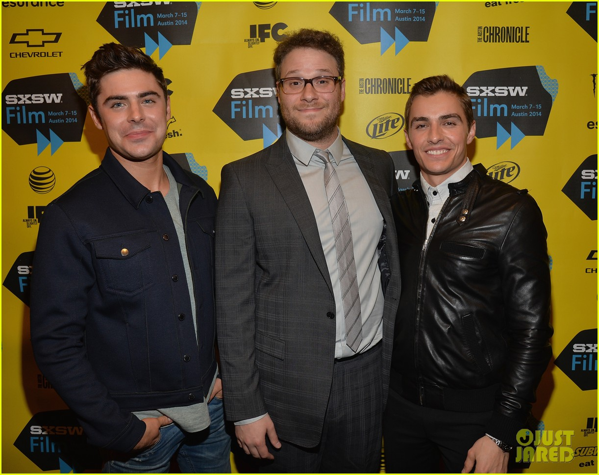 zac efron brings his next shirtless movie neighbors to sxsw 253068574