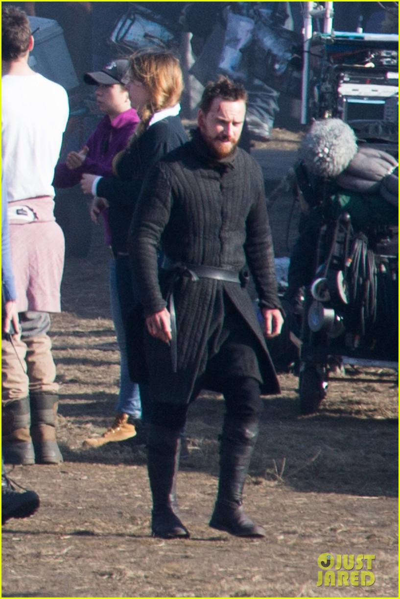 michael fassbender gets back to work on macbeth 03