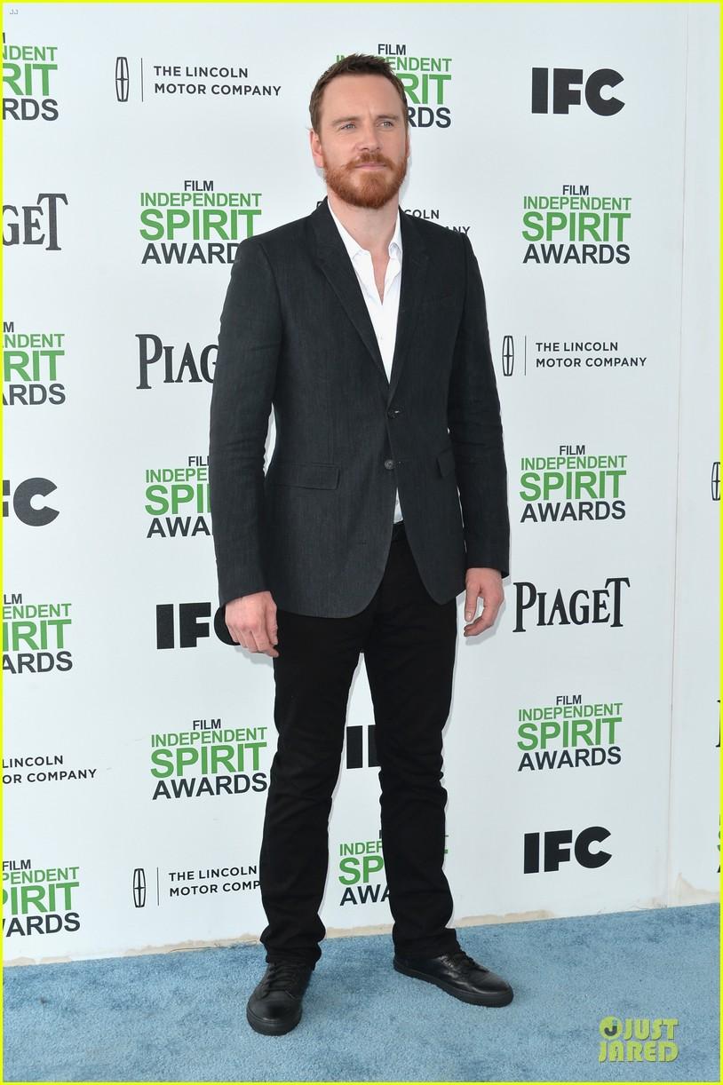 michael fassbender sarah paulson independent spirit awards 2014 013062984