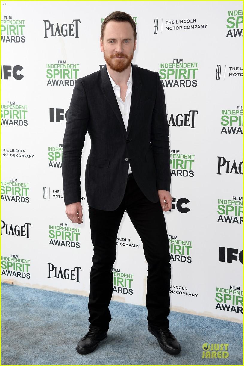 michael fassbender sarah paulson independent spirit awards 2014 023062985