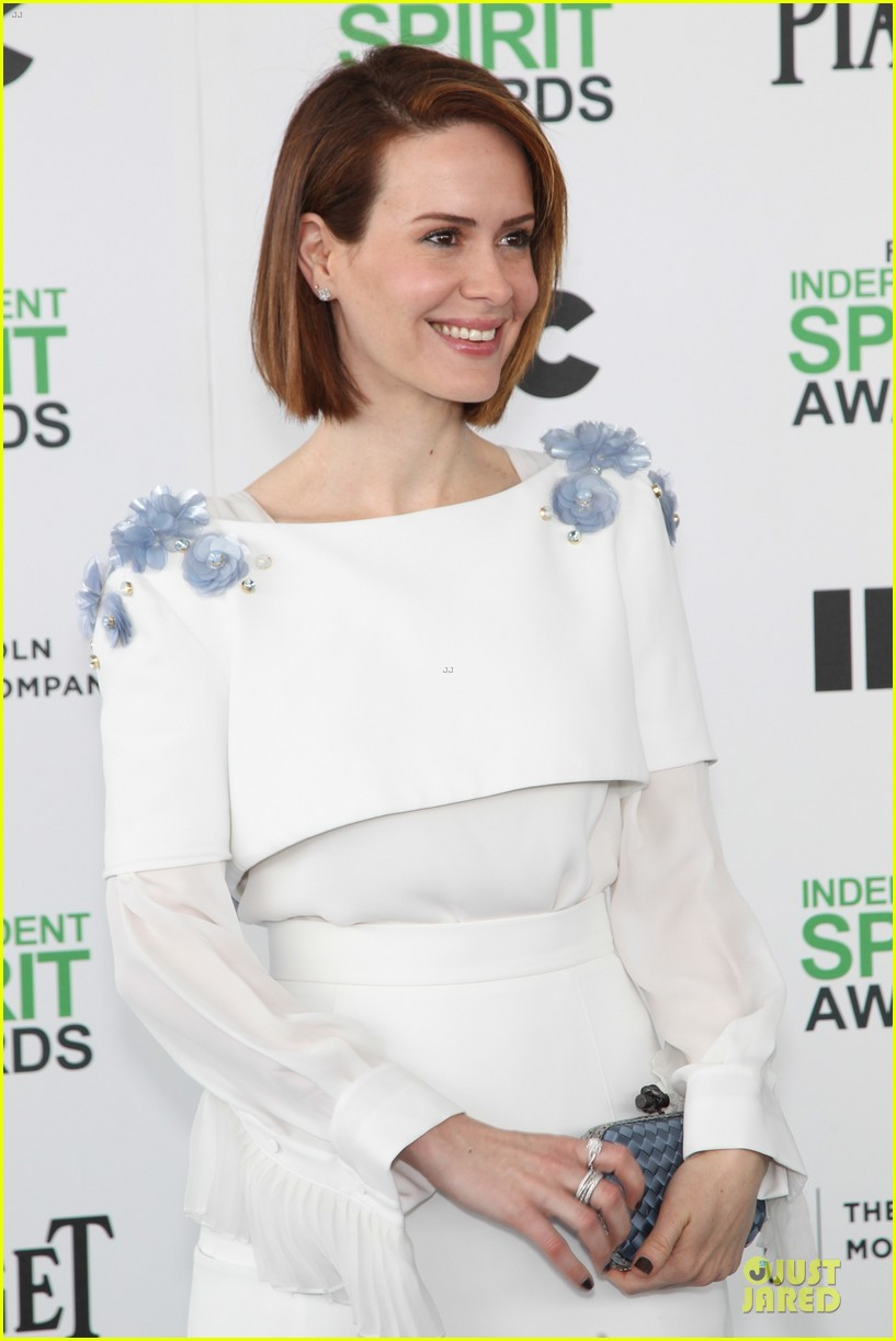 michael fassbender sarah paulson independent spirit awards 2014 043062987