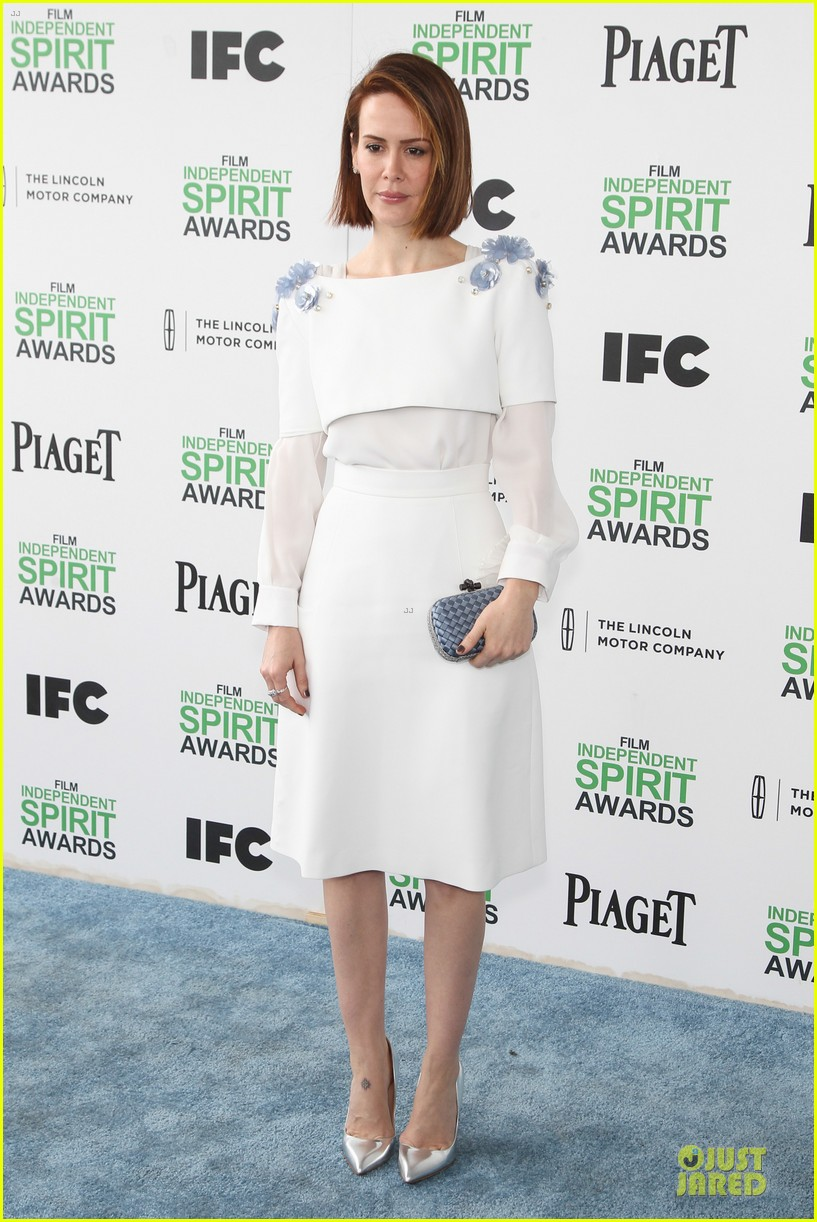 michael fassbender sarah paulson independent spirit awards 2014 063062989