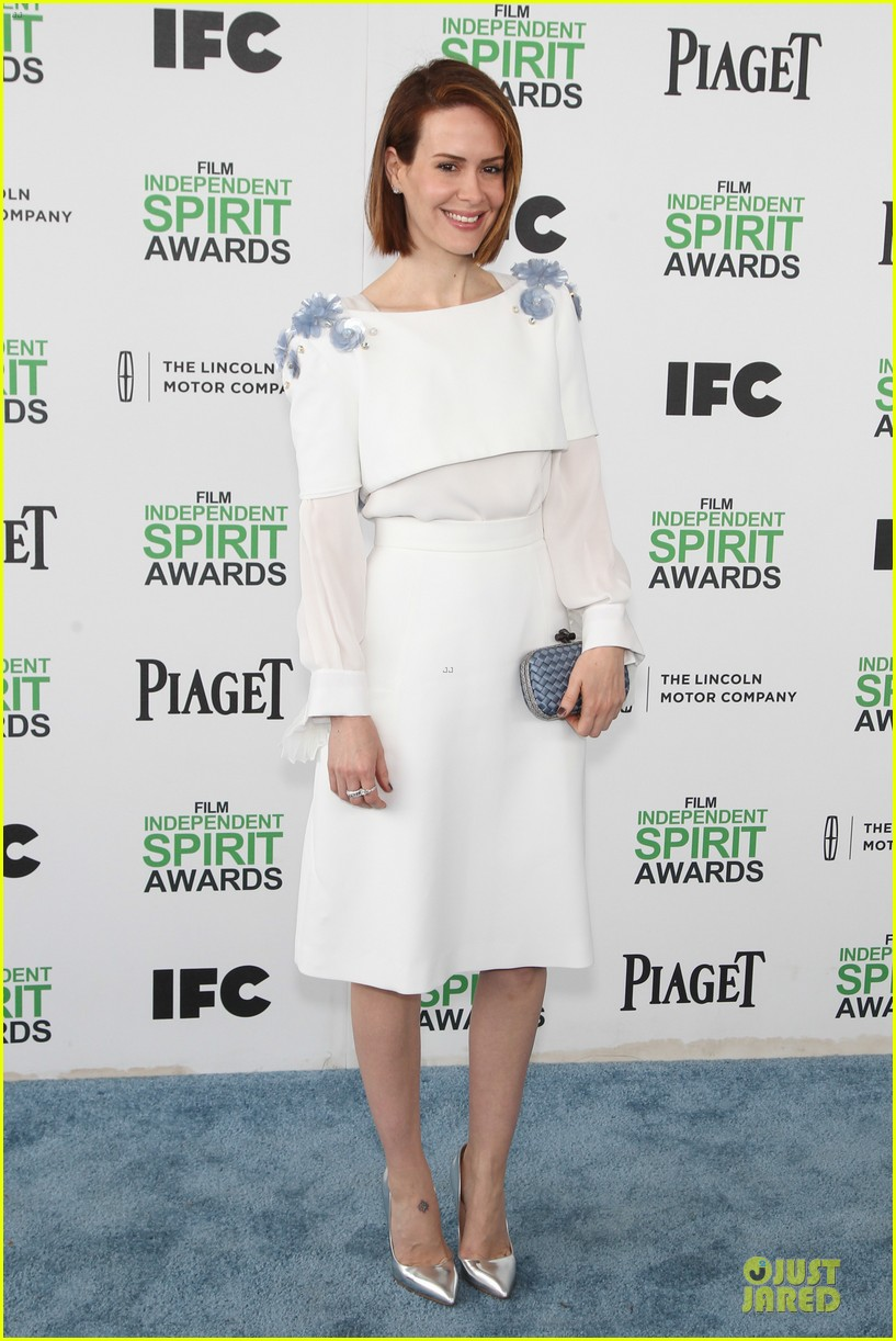 michael fassbender sarah paulson independent spirit awards 2014 12